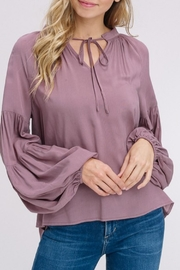 Listicle Mauve Billow Sleeve - Product Mini Image