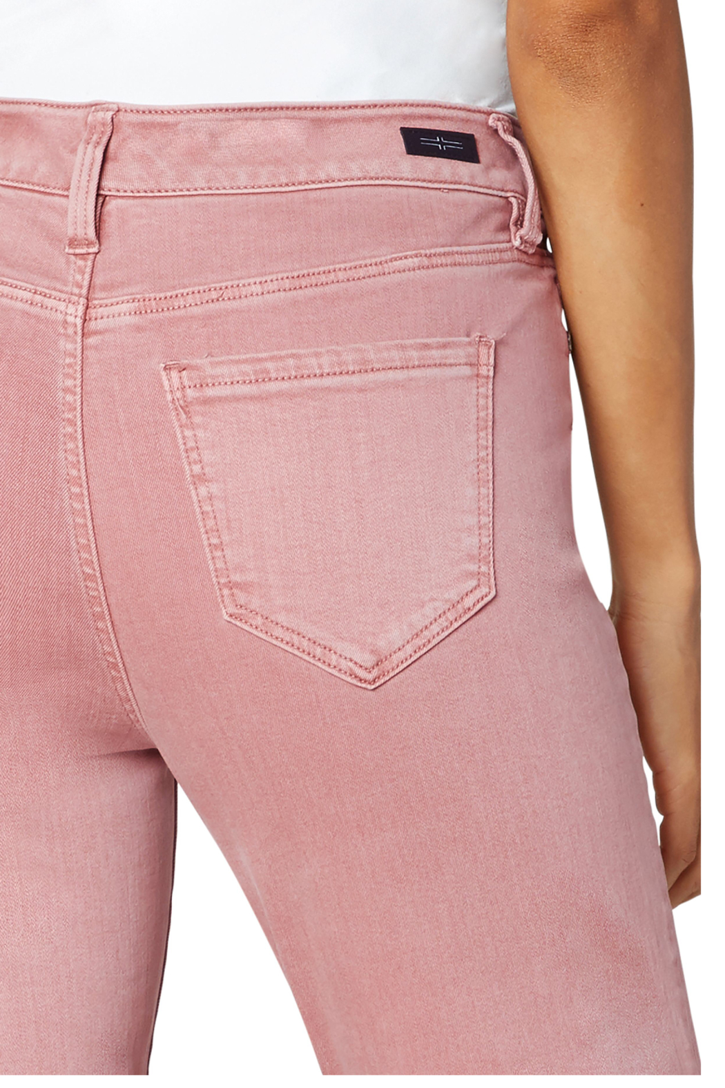 Liverpool  Mauve Blush Abby Ankle Skinny Jean - Side Cropped Image
