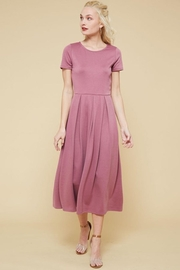 Promesa USA Mauve Flare Dress - Product Mini Image