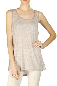 The Vintage Valet Mauve Lace Tanktop - Alternate List Image