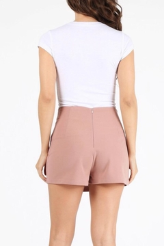 Milk & Honey Mauve Mini Skort - Alternate List Image