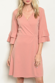 Les Amis Mauve Shift Dress - Product Mini Image