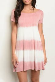 LuLu*s Mauve Tie Dye Dress - Product Mini Image