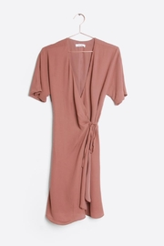Mod Ref Mauve Wrap Dress - Product Mini Image