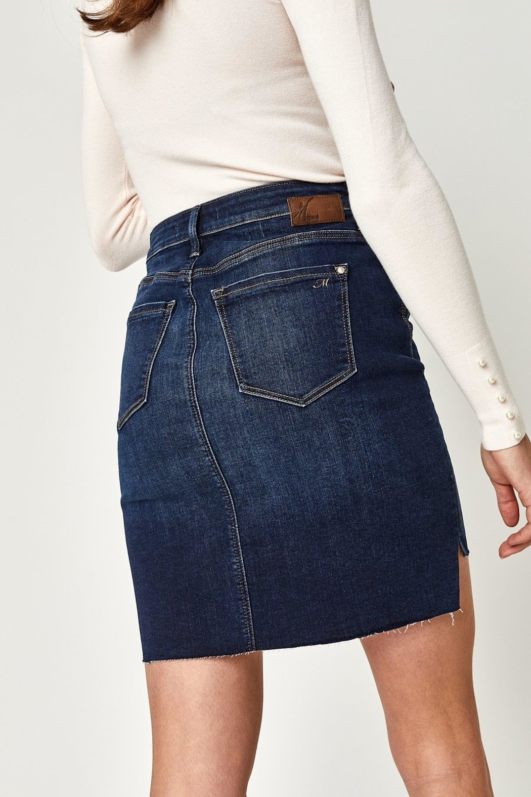 Mavi Jeans Mavi Mila Denim Skirt - Side Cropped Image