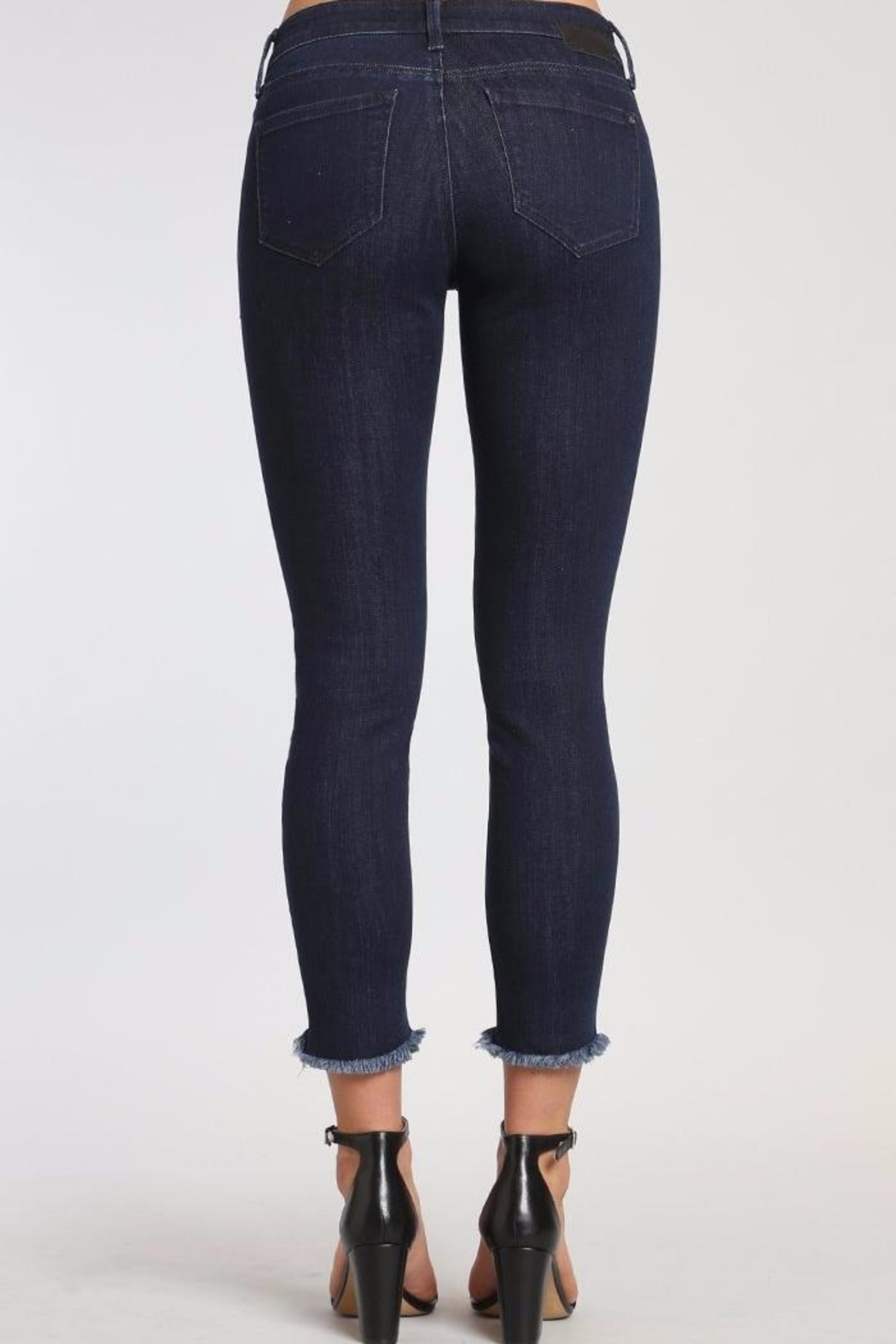 Mavi Jeans Adriana Ankle Jeans - Front Full Image