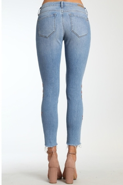 Mavi Jeans Light Embroidered Jeans - Alternate List Image