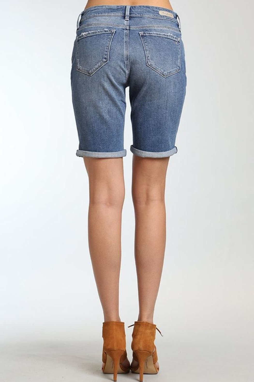 Mavi Jeans Alexis Mid Rolled Short - Front Full Image