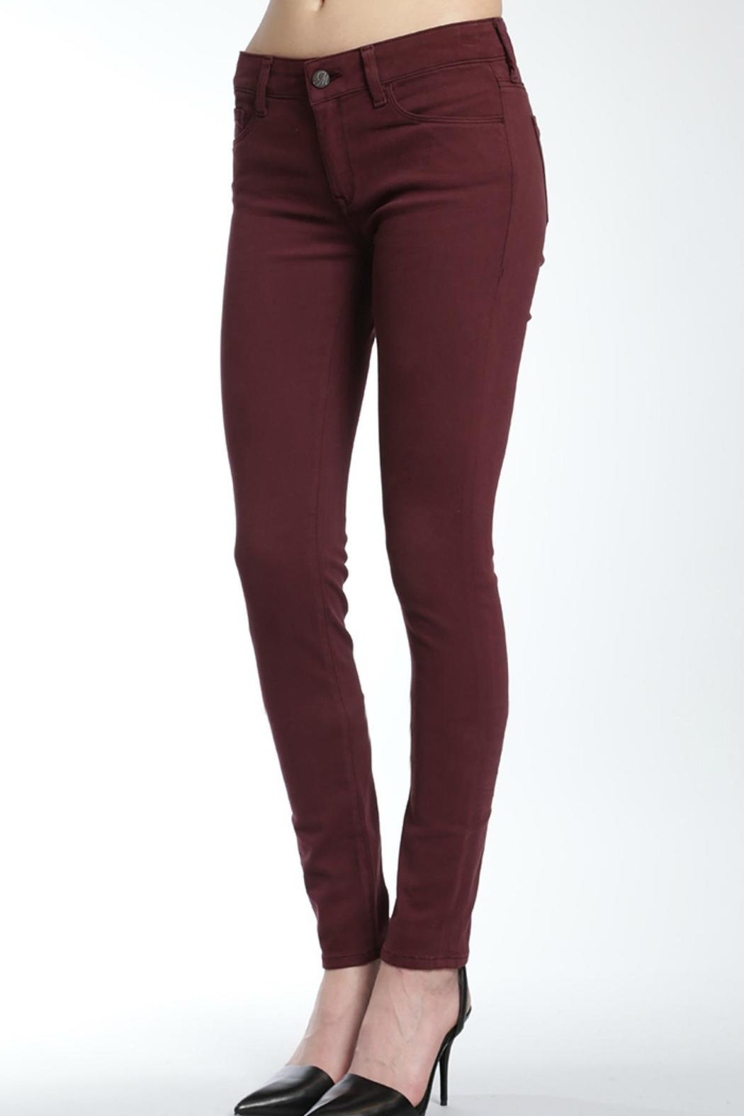 Mavi Jeans Burgandy Sateen Jeans from Canada by Ragdolz — Shoptiques