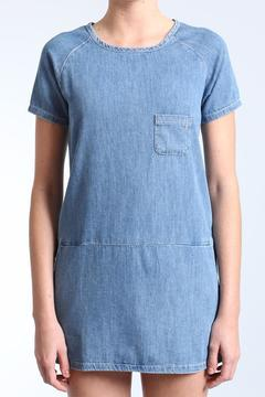 Shoptiques Product: Denim Shift Dress