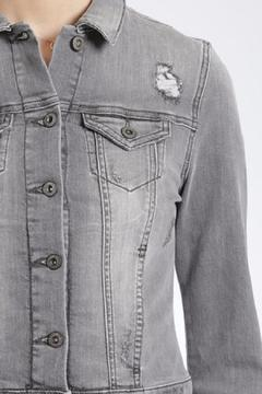 Mavi Jeans Distressed Vintage Denim Jacket - Alternate List Image