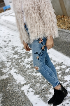 Mavi Jeans Embroidered Floral Denim - Alternate List Image