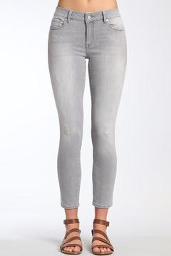 Shoptiques Product: Grey Ankle Skinny Jean
