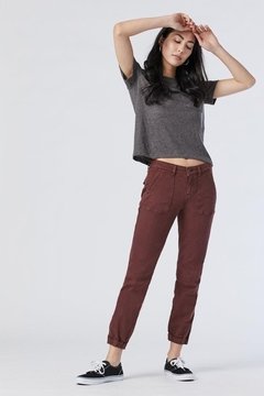 Mavi Jeans Ivy In Brown Stone Twill - Product List Image