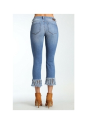 Mavi Jeans Kerry Fringe Denim - Front full body