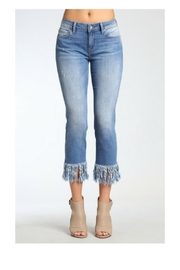 Mavi Jeans Kerry Fringe Denim - Front cropped