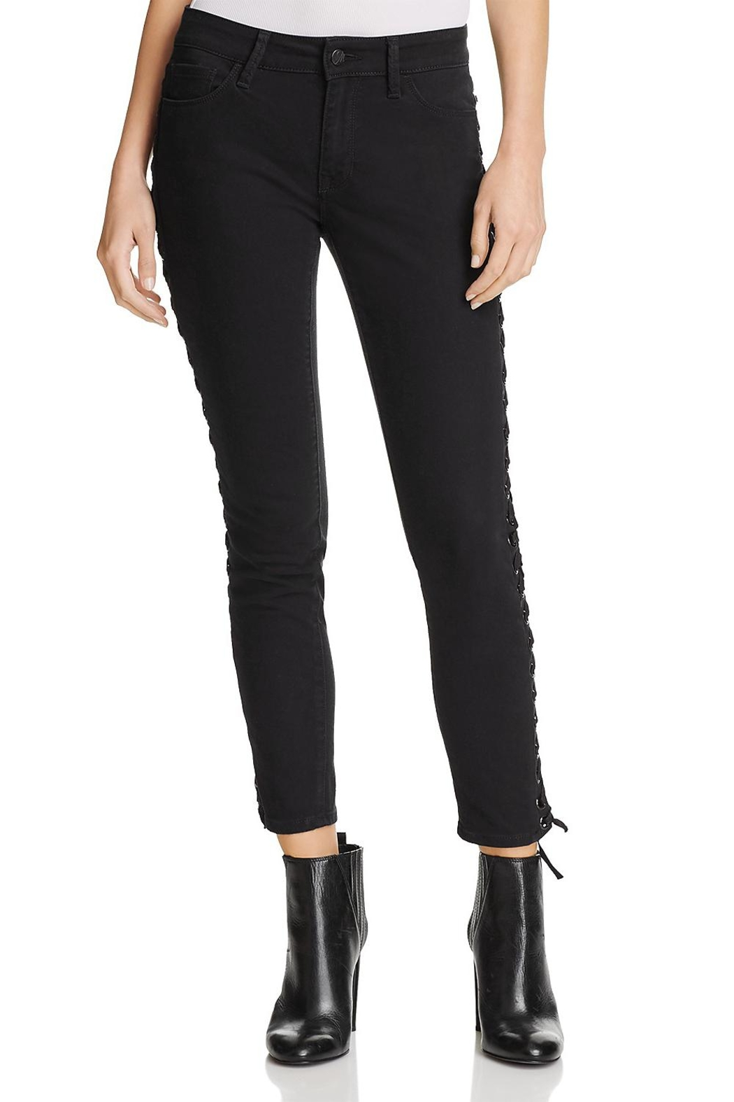 Mavi Jeans Lace Up Jean - Front Full Image