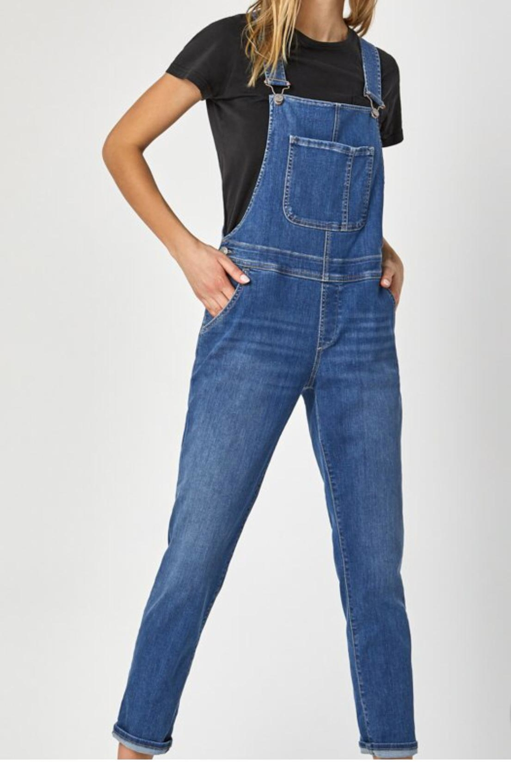 Mavi Jeans Tracy Overalls - Front Cropped Image
