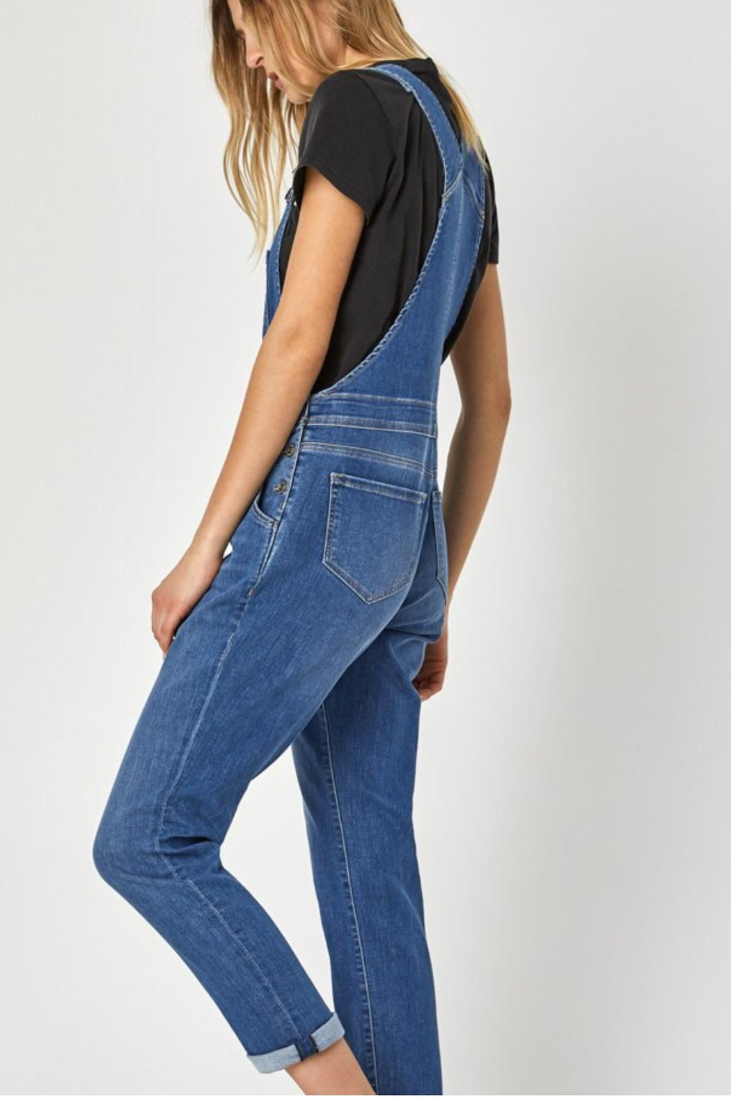 Mavi Jeans Tracy Overalls - Side Cropped Image
