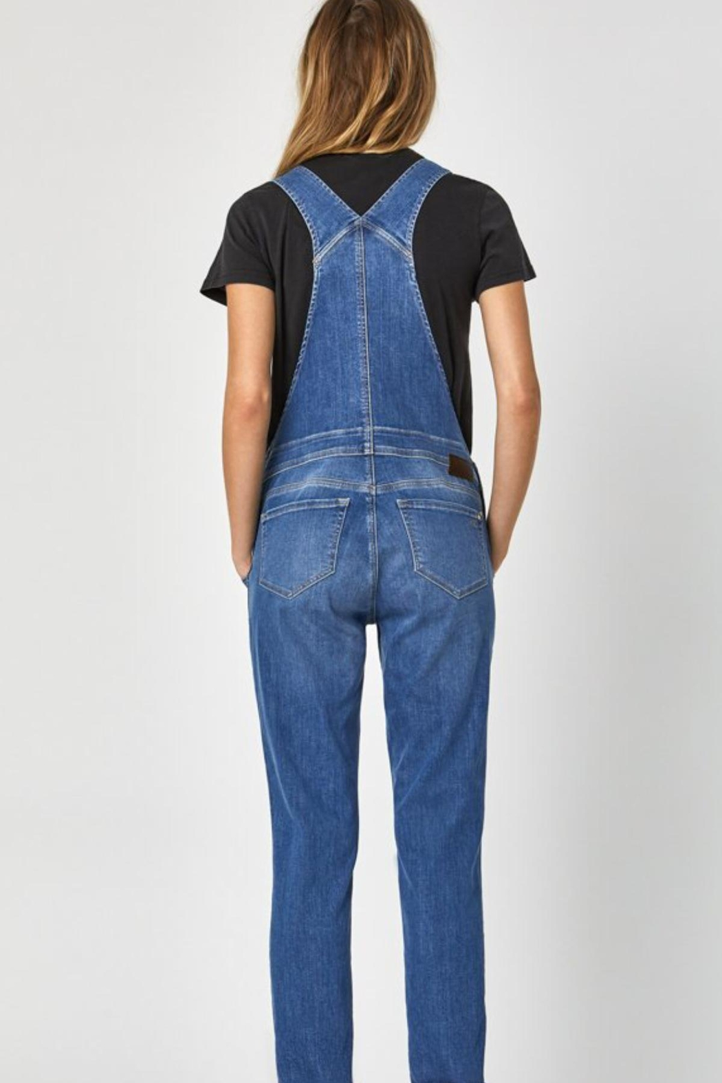 Mavi Jeans Tracy Overalls - Back Cropped Image