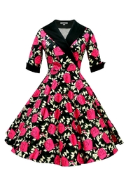 Mavis and Bob Ava Pink Rose Dress - Product Mini Image