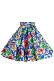 Mavis and Bob Emily Skirt Royal - Back cropped