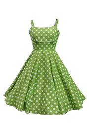 Mavis and Bob Rachel Green Spot Dress - Front cropped