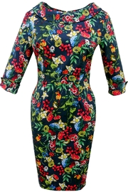 Mavis and Bob Sophia Navy Floral Dress - Product Mini Image