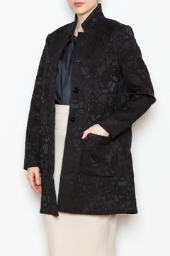 Shoptiques Product: Jacquard Snap Jacket