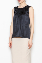 Max Volmary Sleeveless Silk Top - Product Mini Image