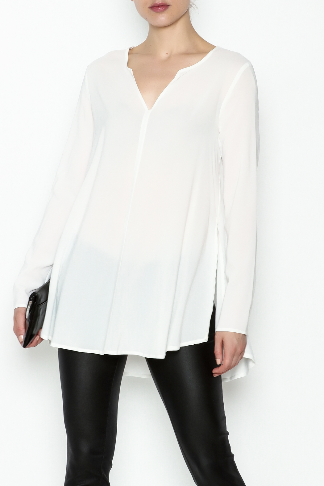 Max Volmary Viscose Blouse - Front Cropped Image