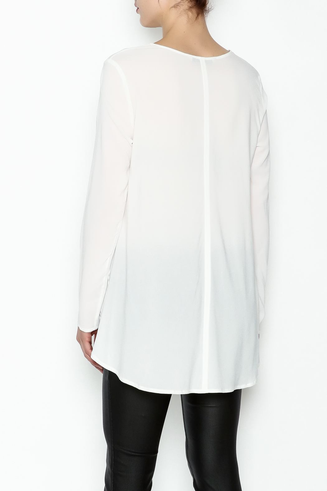 Max Volmary Viscose Blouse - Back Cropped Image