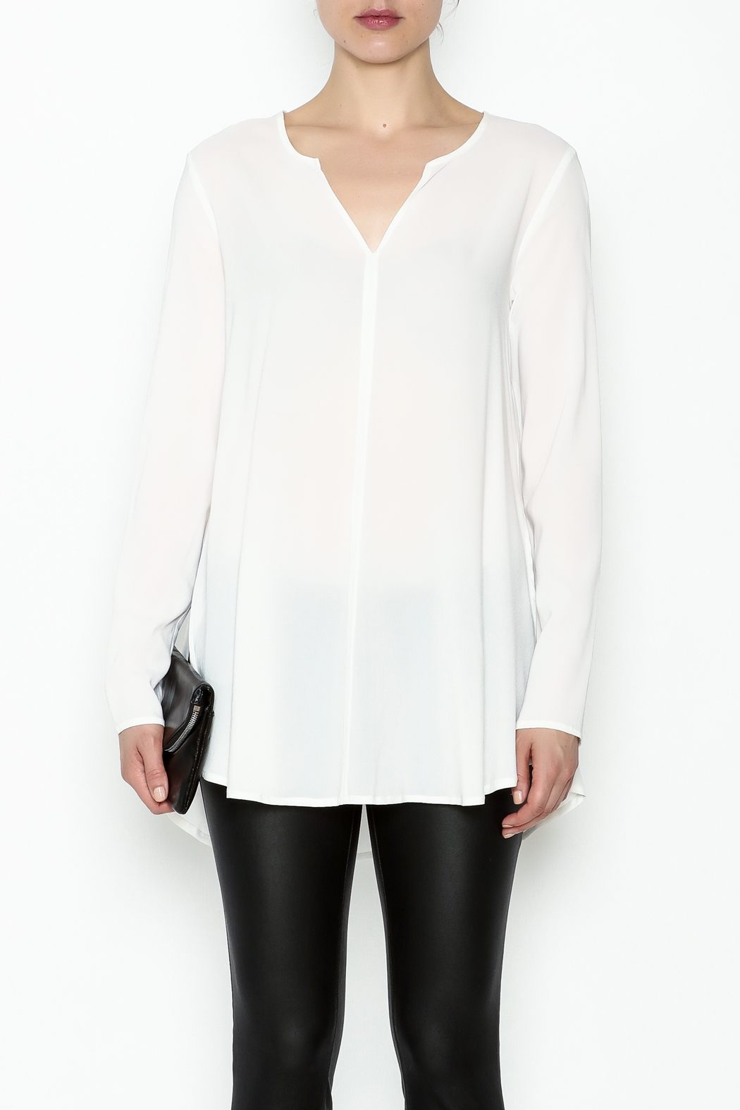 Max Volmary Viscose Blouse - Front Full Image