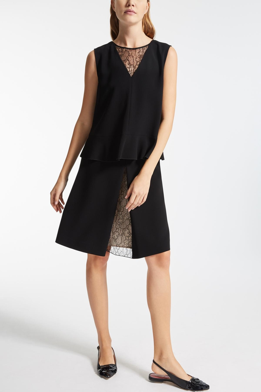 Max Mara Album Black Dress - Main Image