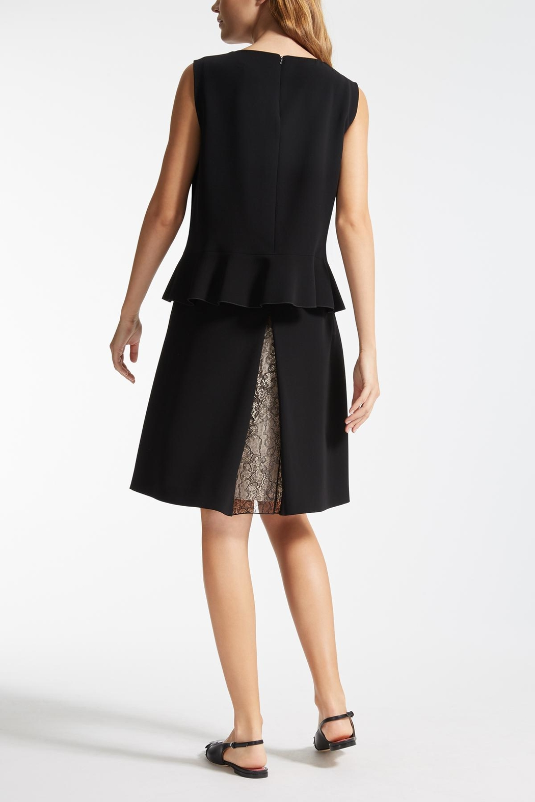 Max Mara Album Black Dress - Front Full Image