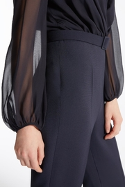 Max Mara Dumbo Navy Jumpsuit - Side cropped