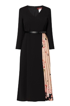 Max Mara Gilly Cady Pleated Dress - Product List Image