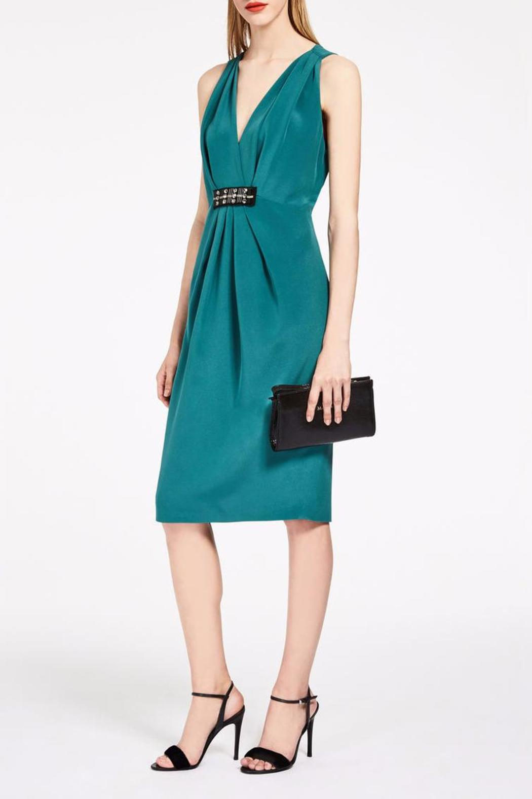 Max Mara Sottile Party Dress - Front Cropped Image