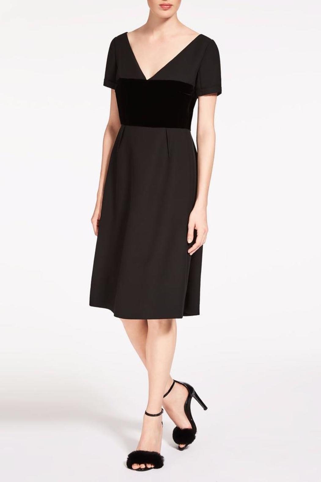 Max Mara Tegola A Line Dress - Front Full Image