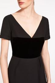 Max Mara Tegola A Line Dress - Back cropped