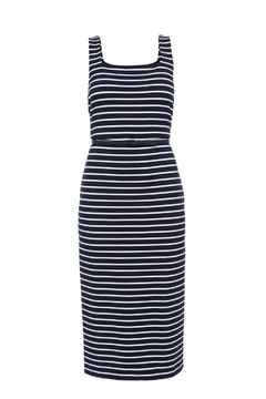 Max Mara Tiro Jersey Striped Dress - Alternate List Image
