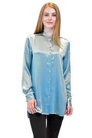 Max Volmary Mandarin Collar Blouse - Product Mini Image