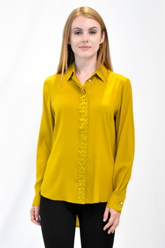Max Volmary Origami Silk Blouse - Product List Image