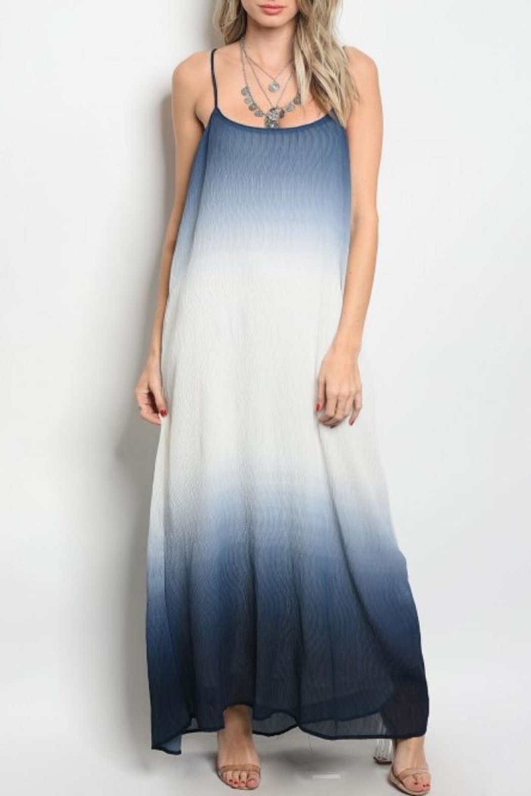 People Outfitter Maxi Dip-Dye Dress - Main Image