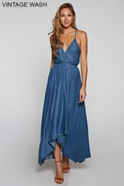 Love Stitch Maxi Dress - Front cropped