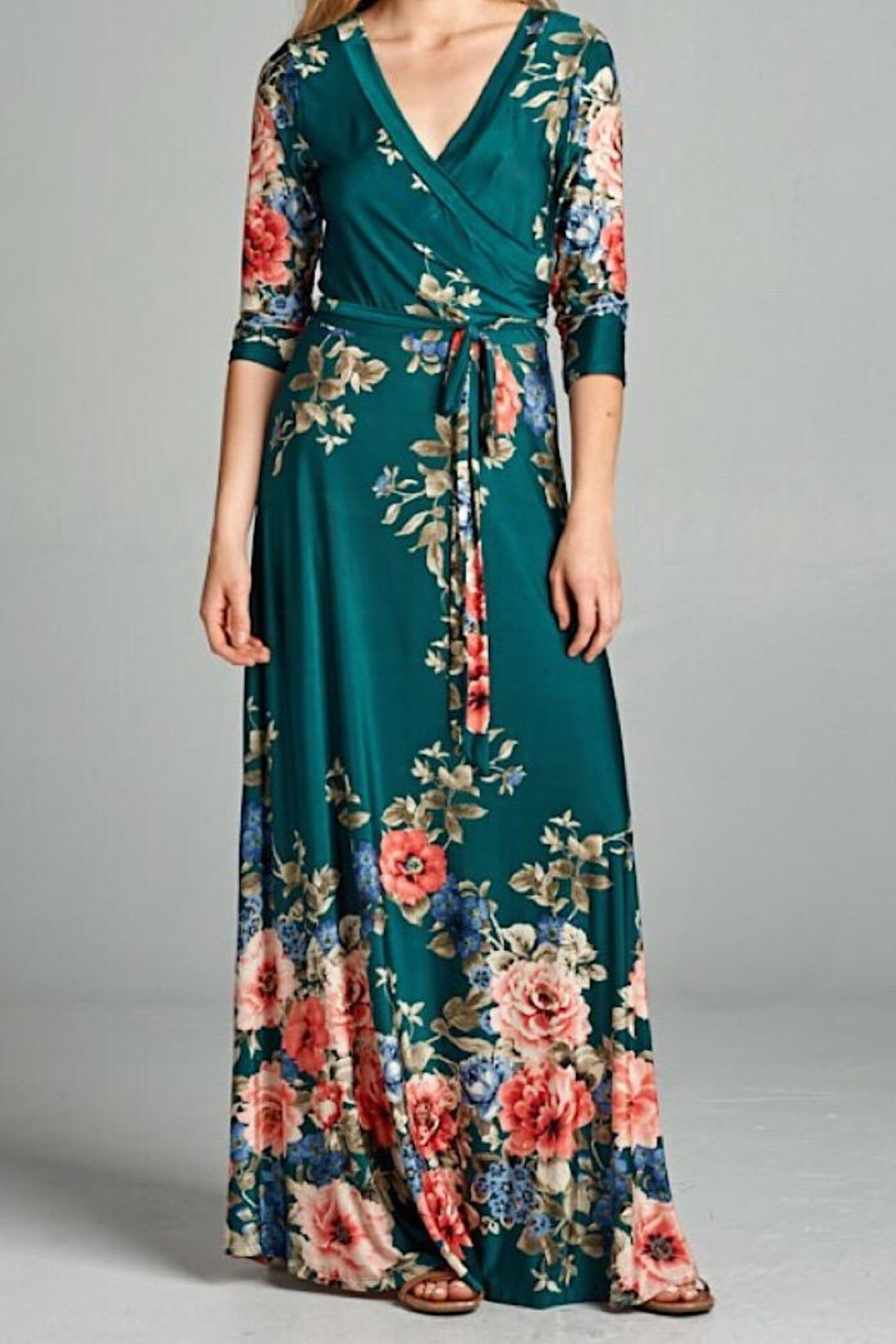 tua Maxi Dress - Side Cropped Image