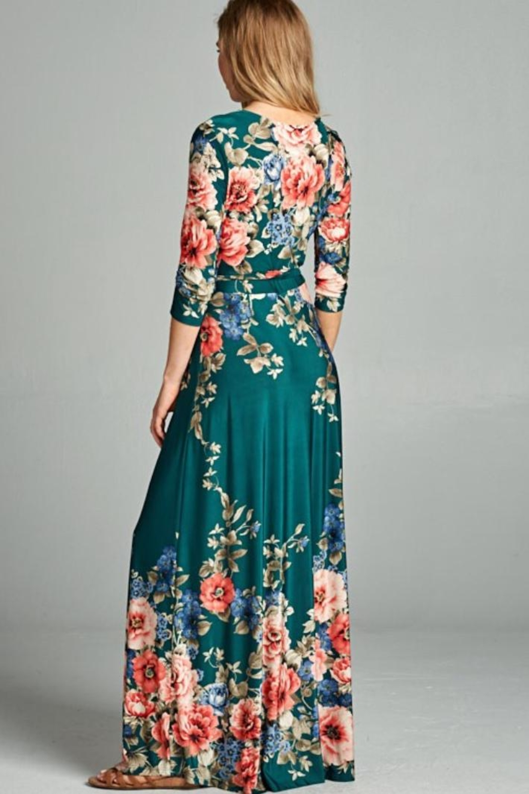 tua Maxi Dress - Front Full Image