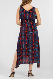 Tribal Maxi Dress - Side cropped