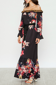 Flying Tomato Maxi dress with floral print - Front full body