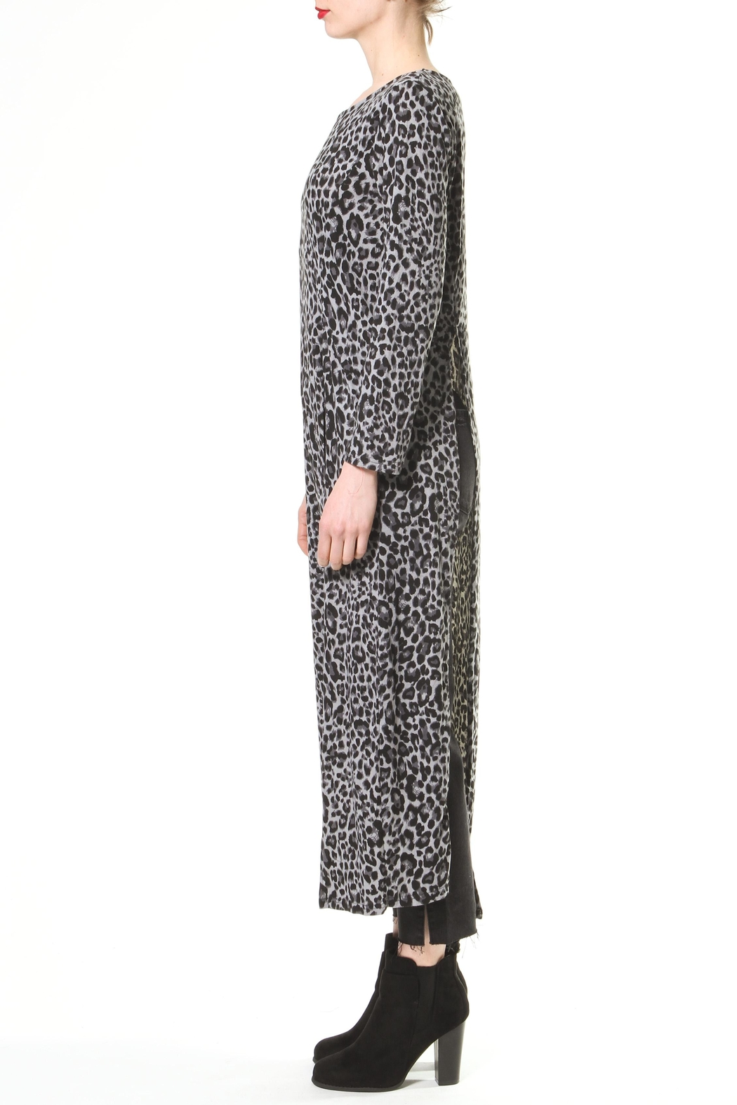 Madonna & Co Maxi Knit Tunic - Front Full Image